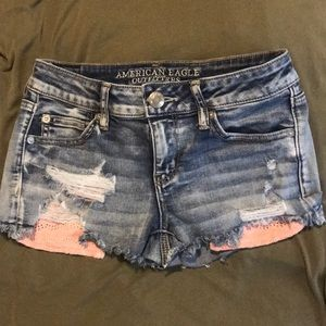 Barely worn American Eagle Jean Shorts